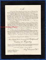 Document Ancien De 1933 - CANISY ( Manche ) - Marie Brigitte Pauline Geneviève De LA ROCHEFOUCAULD Comtesse De KERGOLAY - Historical Documents