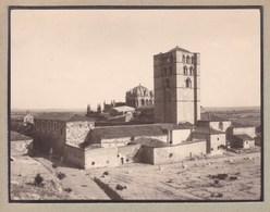 ZAMORA ESPAGNE La Cathédrale Photo Amateur 13 Septembre 1929 Format Environ 7,5 X 5,5 - Lugares