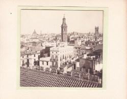 VALENCE VALENCIA ESPAGNE Vue D'ensemble Photo Amateur 1930 Format Environ 4,5 X 3,5 - Lugares
