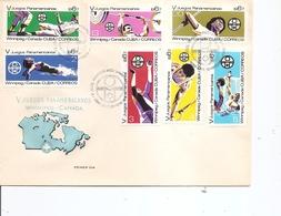 Cuba - Sports ( FDC De 1967 à Voir) - FDC