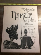 ENV 1900 BELGIQUE NAMUR CASINO ILLUSTREE PAR FEINACH - Oude Documenten