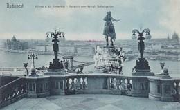 AK Budapest - Aussicht Vom Königl. Schloßgarten - Kilátás A Kir Várkertböl  (41909) - Ungarn