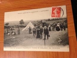 LAPALISSE  -parc Du Dirigeable , Cuisine Et Campement Des Aérostiers ( Port à Ma Charge ) - Lapalisse