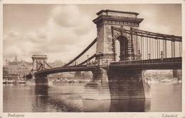 AK Budapest - Lánchid (41910) - Ungarn