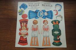 POUPEE NESTLE FARINE LACTEE - Old Paper