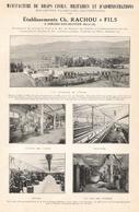 CAMARES SUR DOURDON Ets Rachou Et Fils  1922 - Old Paper