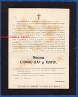 Document Ancien De 1906 - LA HAYE / DEN HAAG - Monsieur Edouard Jean De KUIJPER - Historical Documents