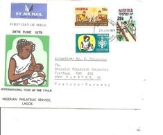 Nigéria ( FDC De 1979 à Voir) - Nigeria (1961-...)