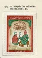 Algérie - Algerien - Algeria 1963 Y&T N°380 - Michel N°405 * - 25c Congrès Des Médecins - Algeria (1962-...)