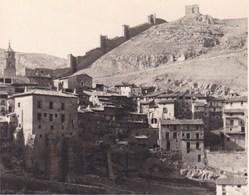 ALbARRACIN  ESPAGNE 1950 Photo Amateur Format Environ 7,5 X 5,5 Cm - Lugares