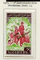 Algérie - Algerien - Algeria 1963 Y&T N°382 - Michel N°411 *** - 25c La Révolution - Algeria (1962-...)