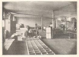 ROQUEFORT Une Salle D'expédition De La Société Agricole De Roquefort  1922 - Old Paper