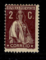 ! ! Portugal - 1926 Ceres 2 C - Af. 382 - MH - 1910-... Republik