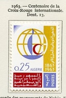 Algérie - Algerien - Algeria 1963 Y&T N°383 - Michel N°412 * - 25c Croix Rouge - Algeria (1962-...)