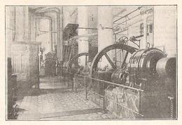 ROQUEFORT Salle Des Machines De La Rue  1922 - Old Paper