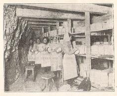 ROQUEFORT Raclage Ou Revivage Des Fromages   1922 - Old Paper