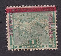 Panama, Scott #71b, Used?, Map Overprinted, Issued 1903 - Panama