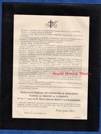 Document Ancien De 1903 - BEAUNE - Pauline Louise Euphrasie SALLONNYER De CHALIGNY Comtesse De JUIGNé De LASSIGNY - Historical Documents