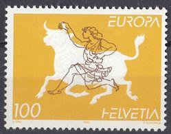 HELVETIA - SUISSE - SVIZZERA - 1995 - Yvert 1481 Nuovo SENZA GOMMA. - Nuovi