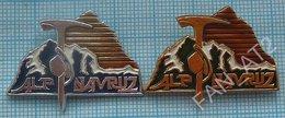 USSR / Badges / Soviet Union / Tajikistan Alpinism Mountaineering Tourism Camp Navruz - Alpinism, Mountaineering