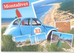 2CV Montalivet Avec Surfs Numéro 33 Editions ARTHAUD As De Coeur - France