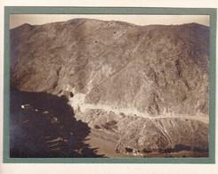 Route D'ALBUNOL ESPAGNE 1924 Photo Amateur Format Environ 7,5 X 5,5 Cm - Lugares