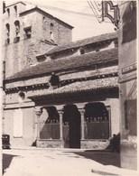 JACA La Cathédrale ESPAGNE 1950 Photo Amateur Format Environ 7,5 X 5,5 Cm - Places