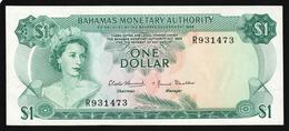 Bahamas 1 Dollar 1968 (XF) P-27 - Bahamas