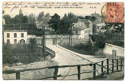 CPA 1906 - VERSAILLES Grille Et Pont Saint St Martin - Ecrite Voyagé - Versailles