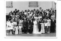 PHOTOGRAPHIE MARIAGE (-lebruso -douarnenez) -1973 - Anonymous Persons