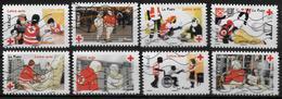 FRANCE  N°  1270/77  Oblitere  ( Cote  6.40e )  Croix Rouge Sauvetage - Croce Rossa