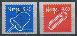 Norvège 1999 N°1261/1262 Neufs** Inventions - Unused Stamps