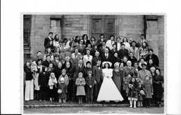PHOTOGRAPHIE MARIAGE (-lebruso -douarnenez) -1976 - Anonymous Persons