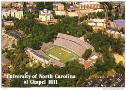 Stadium, Football Stadium Stade Estadio , Aerial View, University Of North Carolina, CHAPEL HILL, North Carolina STAMP - Chapel Hill