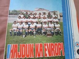 FOOTBOL, HAJDUK KA EVROPI,  XXI European Championship 1975/76 - Livres