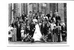 PHOTOGRAPHIE MARIAGE (-PHOTO M. BRETON-douarnenez) - Anonymous Persons