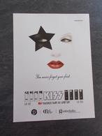 Publicité Papier Parfum - Perfume Ad : KISS USA 2006 - Advertising