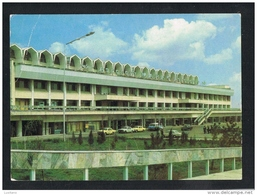 KYRGYZSTAN Bishek Manas Airport Aeroflot Issue Airlines Postcard - Kirghizistan