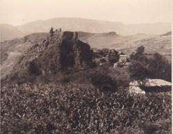 LANJARON Castillo Espagne 1929 Photo Amateur Format Environ 7,5 Cm X 5,5 Cm - Lugares