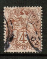 FRANCE  Scott # 112 VF USED  (Stamp Scan # 514) - France