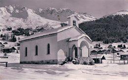 Verbier, Chapelle Protestante Sous La Neige (9129) - VS Valais