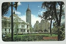 Mexico D.F. Palacio De Bellas Artes Y Torre Latinoamericana. - México