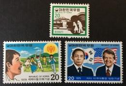 Korea South - MH* - 1979 - # 1170/1172 - Corée Du Sud