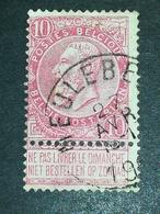 COB N ° 58 Oblitération Meulebeke - 1893-1900 Fine Barbe