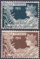 PORTUGAL - PORTOGALLO - 1913 - Serie Completa Di 2 Valori Nuovi Senza Gomma: Yvert 224/225. - 1910 - ... Repubblica