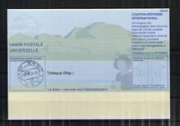 2422 IRC IAS CRI - International Reply Coupon - Antwortschein T31 Gestempelt Tschechische Republik CZ20011121AB - Tschechische Republik
