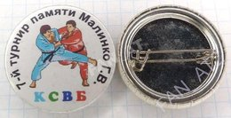 UKRAINE / Badge / Sambo Fight Malinko Memorial Tournament Kharkov 2000s - Worstelen