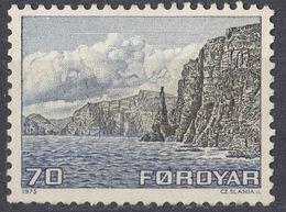FØROYAR- 1975 - Yvert 5 Nuovo Senza Gomma. - 1910 - ... Repubblica
