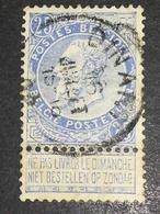 COB N ° 60 Oblitération Dinant - 1893-1900 Fine Barbe