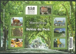 BRAZIL 2016 Belem Para Amazonie Rain Forest Block (8 Stamps) - Mint - Brazil